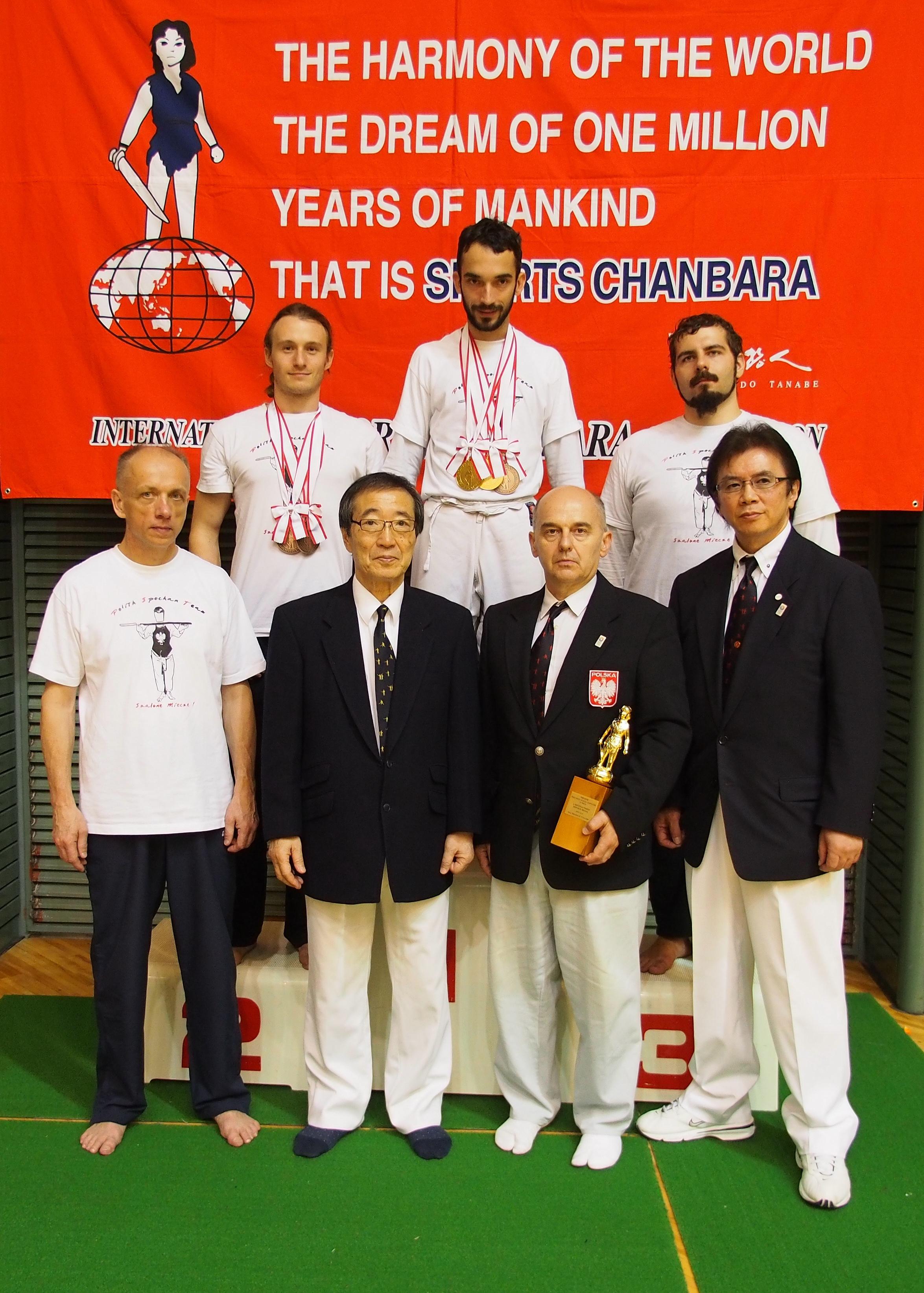 mistrzowie świata spochan szermierka samurajska sportowe kenjutsu