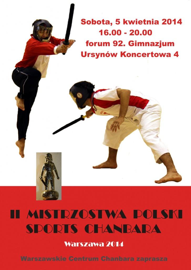 Mistrzostwa Polski szermierka chanbara