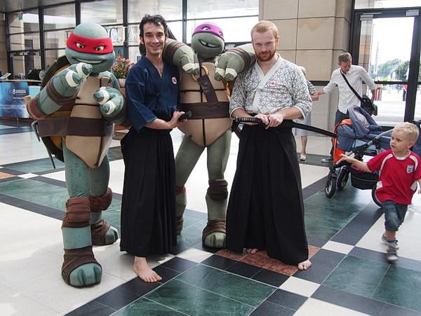 żółwie ninja treningi warszawa