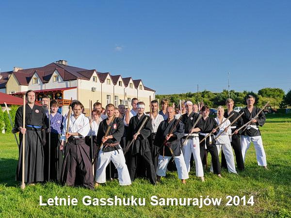 Letnie Gasshuku Samurajów  - chanbara