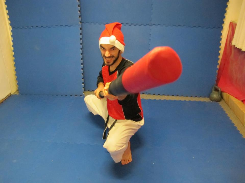 bojutsu chanbara christmas