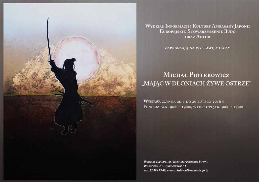 Wystawa mieczy samurajskich w Warszawie