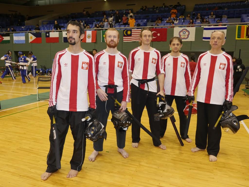 Polska reprezentacja Spochan - Japonia 2015