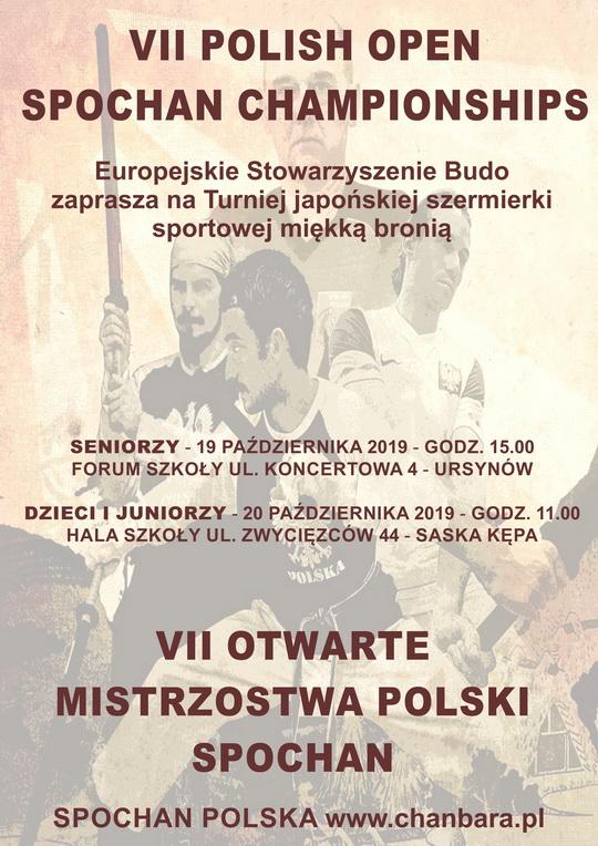 Mistrzostwa Polski Spochan 2019