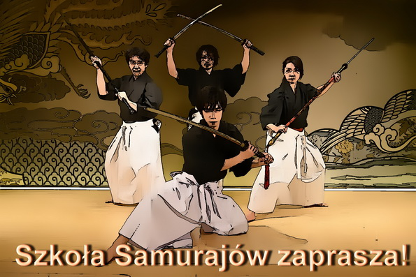 samurai school invites web